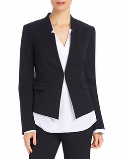 Fitted Collarless Blazer by Ellen Tracy in The Good Wife