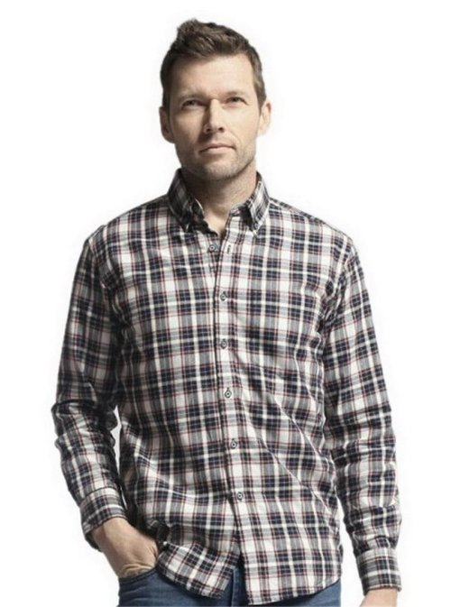 Long Sleeve Checked Shirt by Los-Eva in Kick-Ass