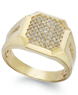 Diamond Cluster Ring by Gento By Effy in Legend