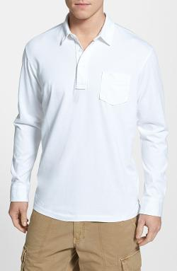 'Bali Shore' Long Sleeve Polo by Tommy Bahama in Yves Saint Laurent