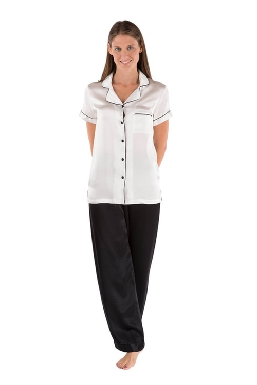 Women's Silk Pajamas by TexereSilk in Mr. & Mrs. Smith