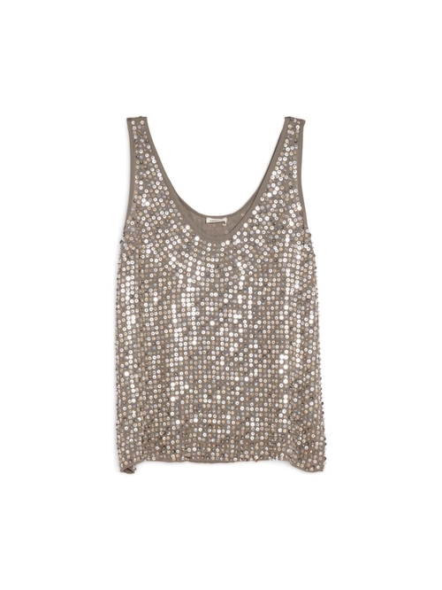 Odette Beaded Tank by L'agence in Empire