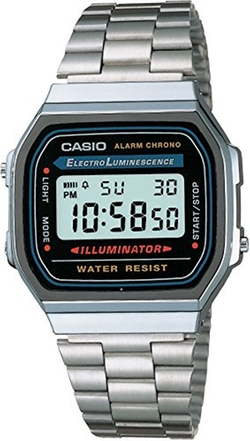 Men's A168W-1 Stainless Steel Watch by Casio in Wanted