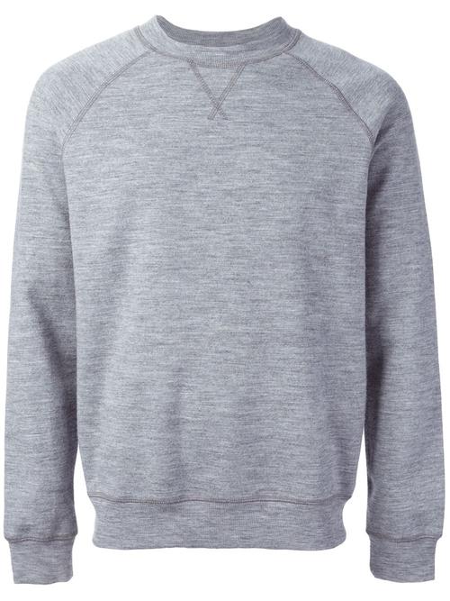Raglan Sleeve Sweatshirt by A.P.C. in The Town