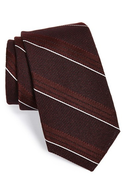 Woven Silk Tie by Gitman in Clueless