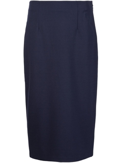 Midi Pencil Skirt by T By Alexander Wang in Suits