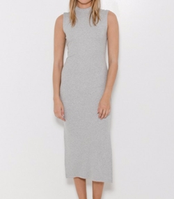 Mock Neck Maxi Dress by Nomia in Guilt
