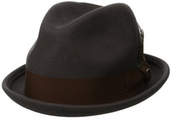 Gain Fedora Hat by Brixton in Hail, Caesar!