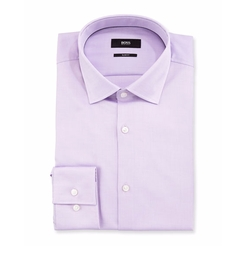 Juan Slim Fit Cotton Dress Shirt by Boss Hugo Boss in Lethal Weapon