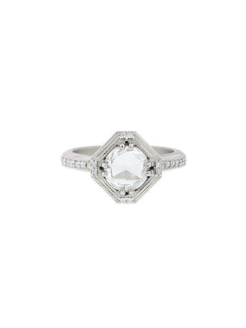 Geometric Diamond Ring by Megan Thorne in Entourage