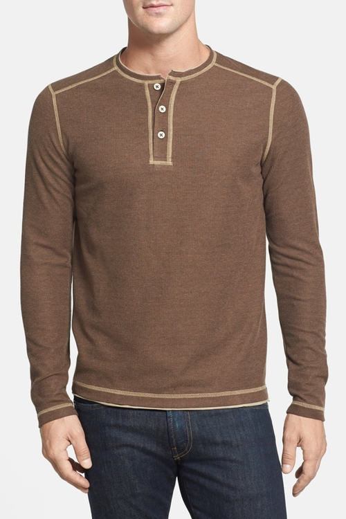 'Grand Thermal' Island Modern Fit Henley Shirt by Tommy Bahama in Maze Runner: The Scorch Trials