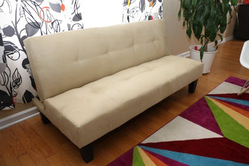 Microfiber Sofa Futon Bed by Home Life in The Gunman