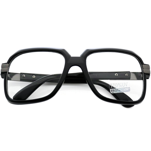 Oversized Clear Lens Square Glasses by Wear Me Pro in American Horror Story - Season 5 Episode 1