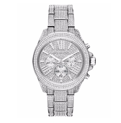 Chronograph Wren Pavé Accent Bracelet Watch by Michael Kors in Keeping Up With The Kardashians