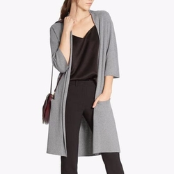 Wool Blend Cardigan by Halston Heritage in House of Cards