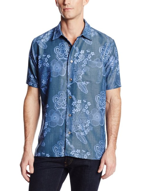 Men's Short Sleeve Button Down Shirt by Van Heusen in The Place Beyond The Pines