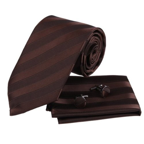 Striped Silk Necktie by Epoint in The Man from U.N.C.L.E.