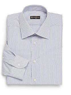 Chain Striped Dress Shirt by Corneliani in The Judge