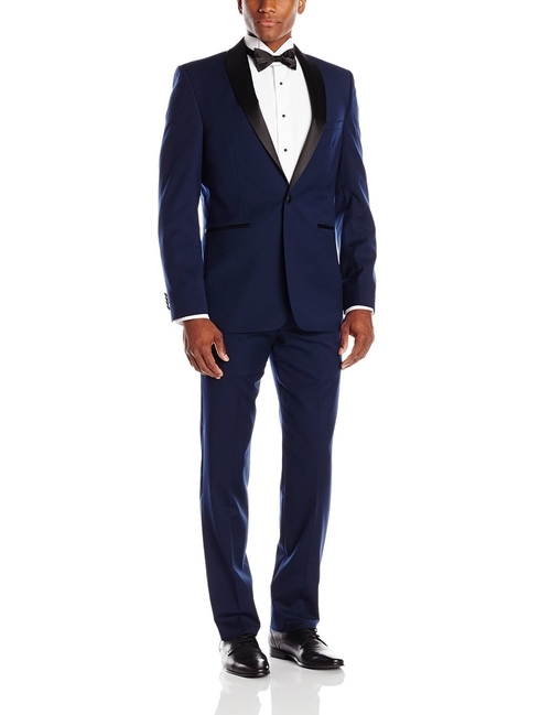 Shawl Collar Tuxedo Suit by Vince Camuto in Popstar: Never Stop Never Stopping
