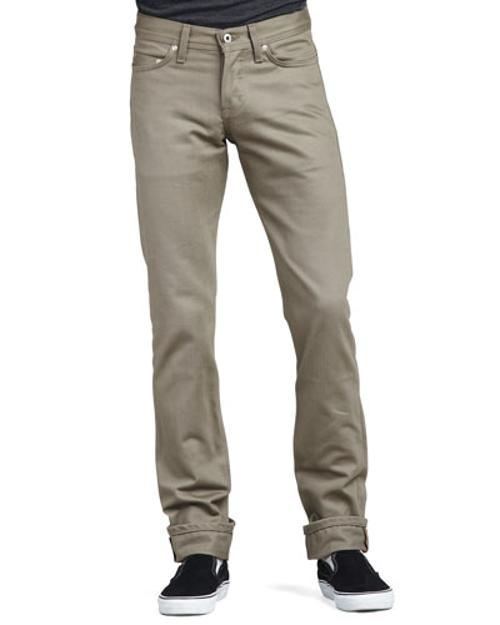 WeirdGuy Selvedge Chino Pants by Naked and Famous Denim	 in Neighbors