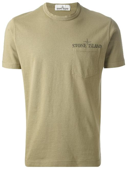 crew neck T-shirt by STONE ISLAND in Transcendence