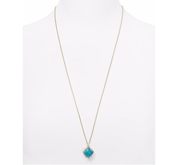 Kacey Pendant Necklace by Kendra Scott in The Fate of the Furious