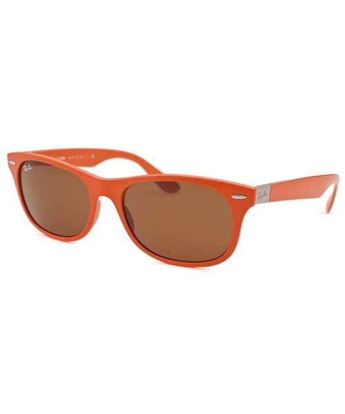 New Wayfarer Orange Sunglasses by Ray-Ban in Get Hard