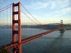 San Francisco, CA by GOLDEN GATE BRIDGE in Dawn of the Planet of the Apes