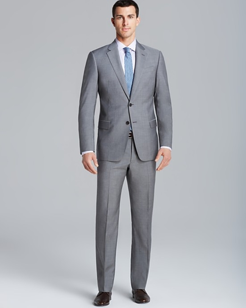 End on End Suit by Armani Collezioni Giorgio in Empire - Season 2 Episode 1