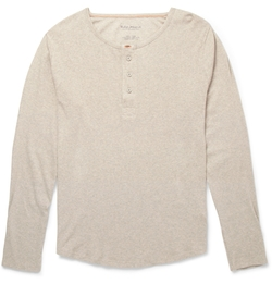 Fairtrade Organic Henley T-Shirt by Nudie Jeans in New Girl
