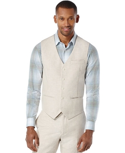 Octavio Slim Vest by Perry Ellis in Live By Night