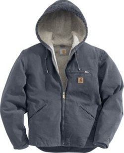Men's Sierra Hooded Jacket by Carhartt in Scandal