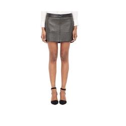 Studded Lambskin Mini Skirt by Mason By Michelle Mason in Pretty Little Liars