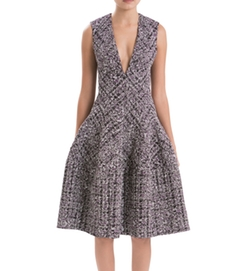 Sleeveless Tweed Dress by J. Mendel Paris in Suits