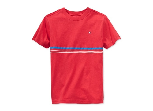 Boys' Easton Stripe T-Shirt by Tommy Hilfiger in Boyhood