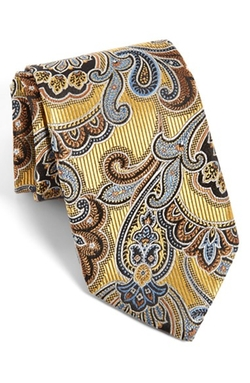 Paisley Silk Tie by J.Z Richards in Suits