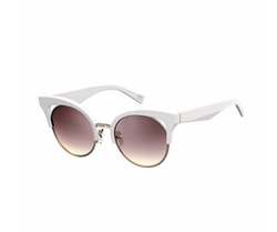 Open-Inset Monochromatic Cat-Eye Sunglasses by Marc Jacobs in Ingrid Goes West