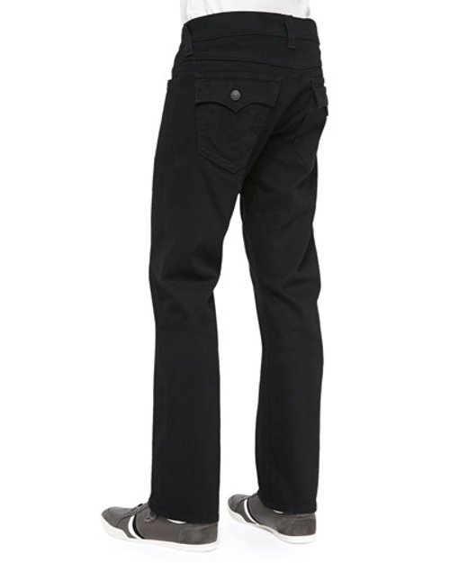 Ricky Midnight Straight-Fit Jeans by True Religion in Begin Again