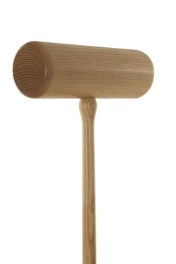 Woodstock Croquet Mallet by Jaques of London in Trainwreck