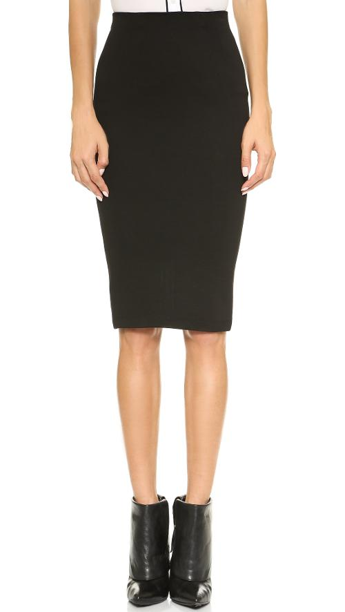 High Waisted Pencil Skirt by Alice + Olivia in The Other Woman