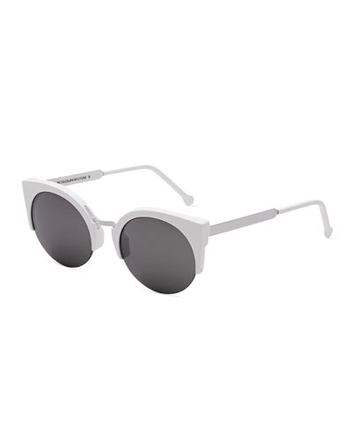 Metric Cat-Eye Sunglasses by Super By Retrosuperfuture in Scream Queens - Season 1 Episode 5