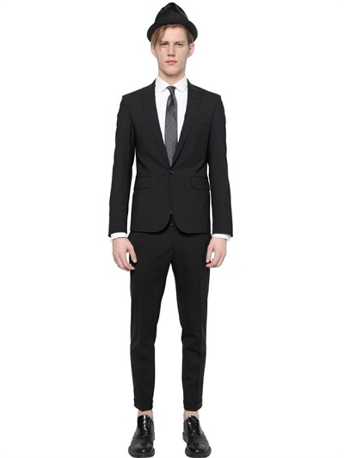 Tokyo Stretch Wool Suit by Dsquared2 in While We're Young
