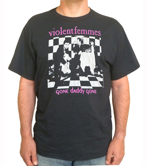 """Gone Daddy Gone"" T-Shirt by Violent Femmes in She's The Man"