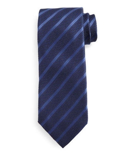 Diagonal-Striped Tie by Tom Ford	 in Suits