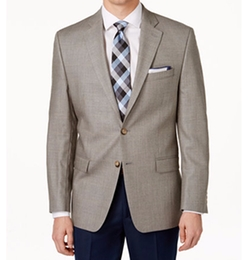 Windowpane Sport Coat by Lauren Ralph Lauren in New Girl