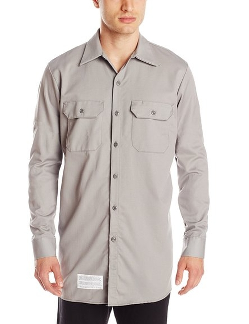 Flame Resistant Cotton Excel FR Work Shirt by Bulwark in Straight Outta Compton