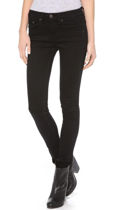 High Rise Skinny Jeans by Rag & Bone/Jean in The Purge: Anarchy