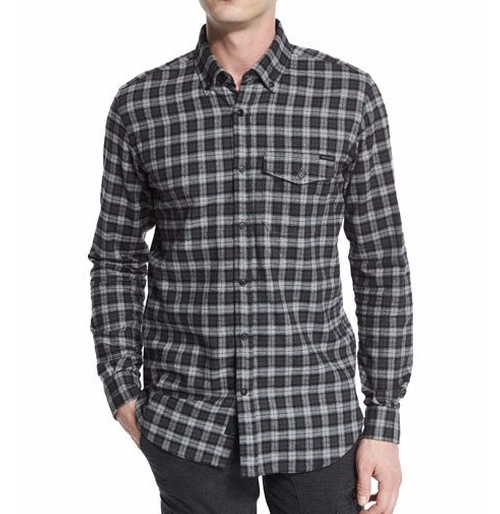 Samuel Check Flannel Shirt by Belstaff in Pretty Little Liars - Season 7 Episode 5