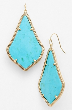 Alexandra Drop Earrings by Kendra Scott in Pitch Perfect 2