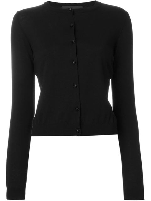 Crew Neck Cardigan by Boutique Moschino in This Is Where I Leave You